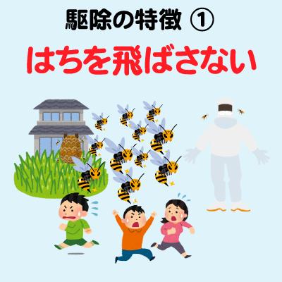 ハチ退治001