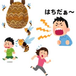 正しく蜂に刺される方法